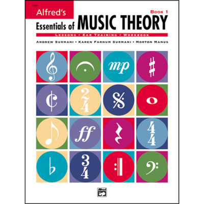 Alfred Essentials of Music Theory Book 1