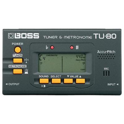 Boss TU80 Tuner-Metronome