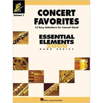 Essential Elements Concert Favorites Book 1