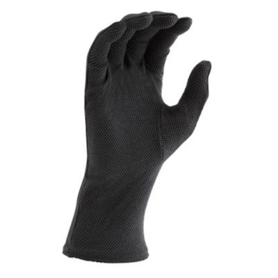 Long Wristed Sure Grip Gloves - Black