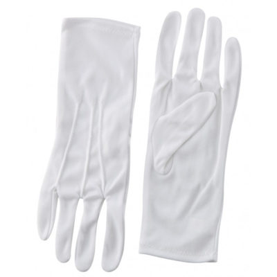 Nylon Gloves - White
