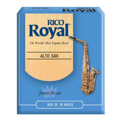 Rico Royal Alto Saxophone Reed Box