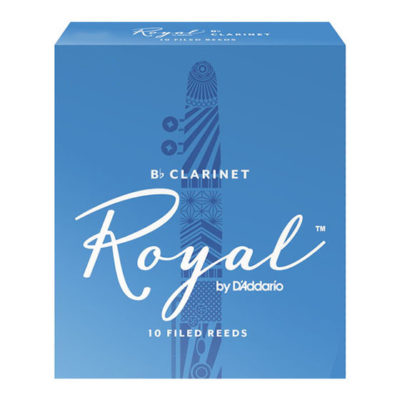 Rico Royal Bb Clarinet Reed Box - New