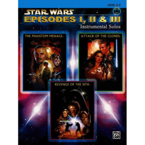 Star Wars Episodes I-II-III Instrumental Solos