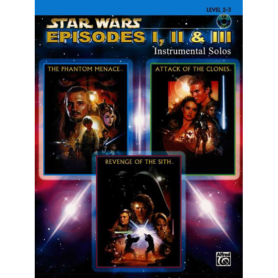Star Wars Episodes I-II-III Instrumental Solos