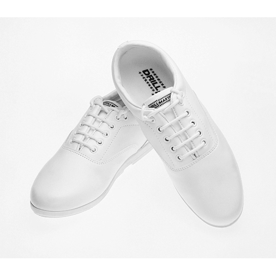 White Drillmaster Shoes
