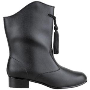 Vinyl Boot - Black