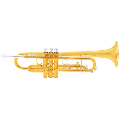 King 601 Trumpet Header