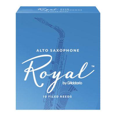 Rico Royal Alto Saxophone Reed Box - New